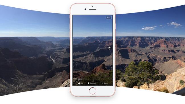 """Facebook thêm tính năng ảnh 360 độ, người dùng tha hồ """"sống ảo"""""""