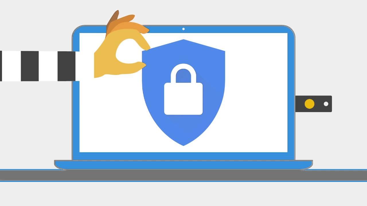 """google security key - Bảo vệ tài khoản Google của bạn bằng """"khóa bảo mật"""" USB"""