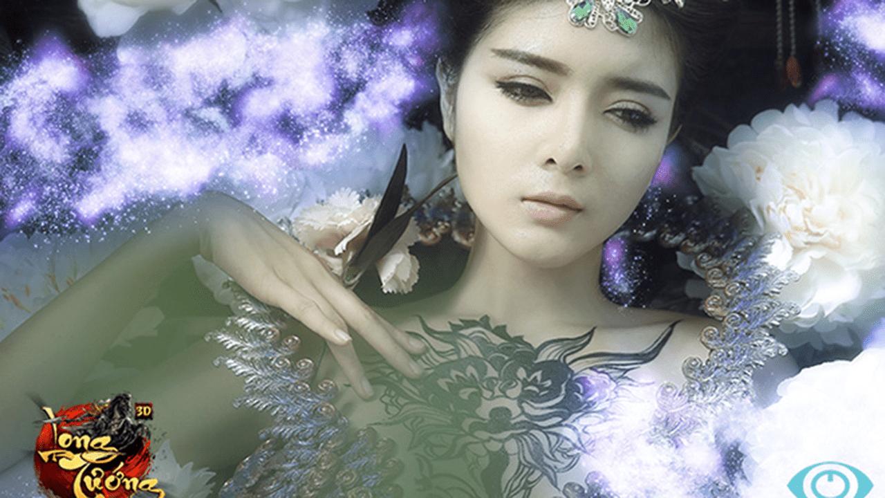 lilly luta - Lilly Luta lột xác với tạo hình Điêu Thuyền gợi cảm