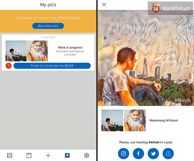Malevich: Ứng dụng tạo bức ảnh vừa