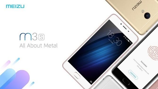 Meizu M3s ra mắt: nhôm nguyên khối, RAM 2GB