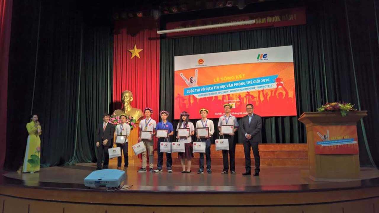 moswc 2016 - 6 đại sứ Microsoft Office Việt Nam tham dự vòng chung kết MOSWC 2016