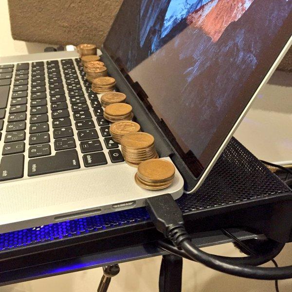 Phương pháp tản nhiệt mới cho Macbook bằng đồng xu