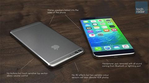 trainghiems ip 7 plus - iPhone 7 Plus sẽ có camera kép và 3GB RAM