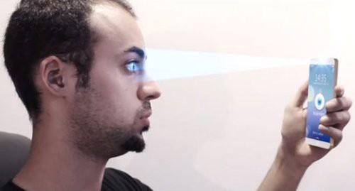 trainghiemso galaxy note 7 - Galaxy Note 7 sử dụng công nghệ quét võng mạc
