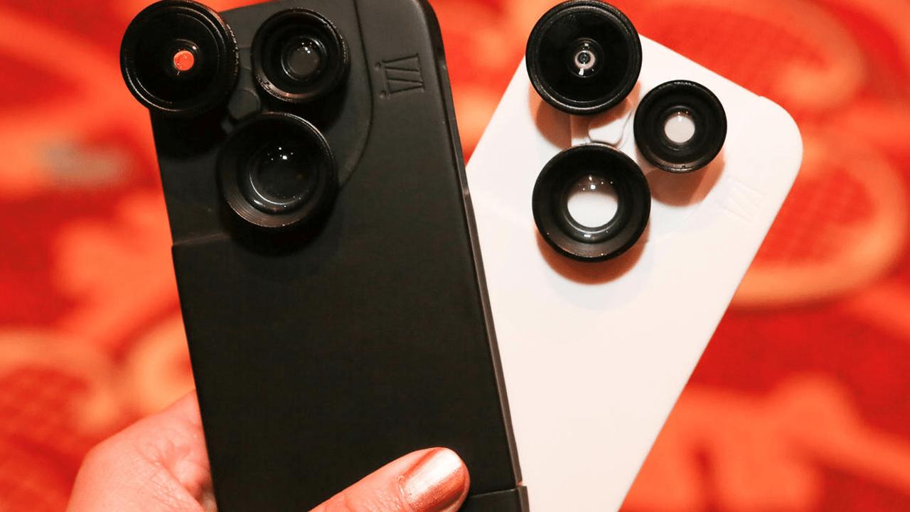 Izzi Slim trainghiemso - Izzi Slim - Vỏ điện thoại kiêm ống kính