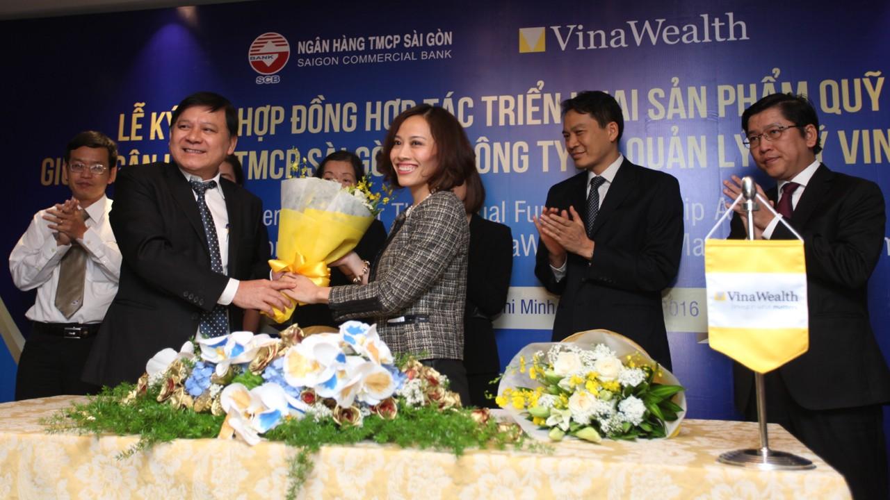 Quy mo trainghiemso - Vinawealth và SCB hợp tác triển khai quỹ mở