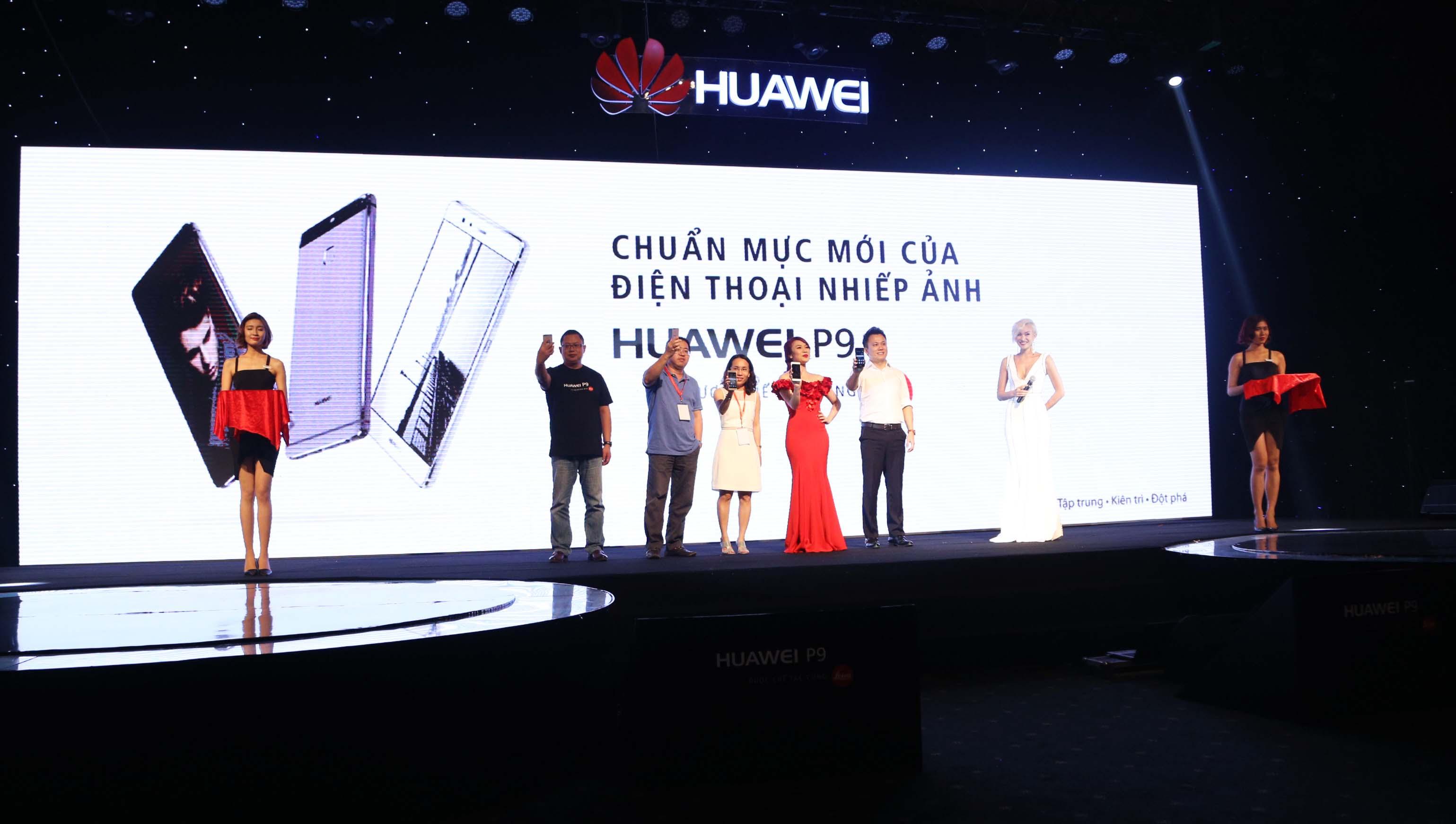 Ra mat san pham Huawei P9 - Huawei P9 chính thức ra mắt, giá 10,99 triệu đồng