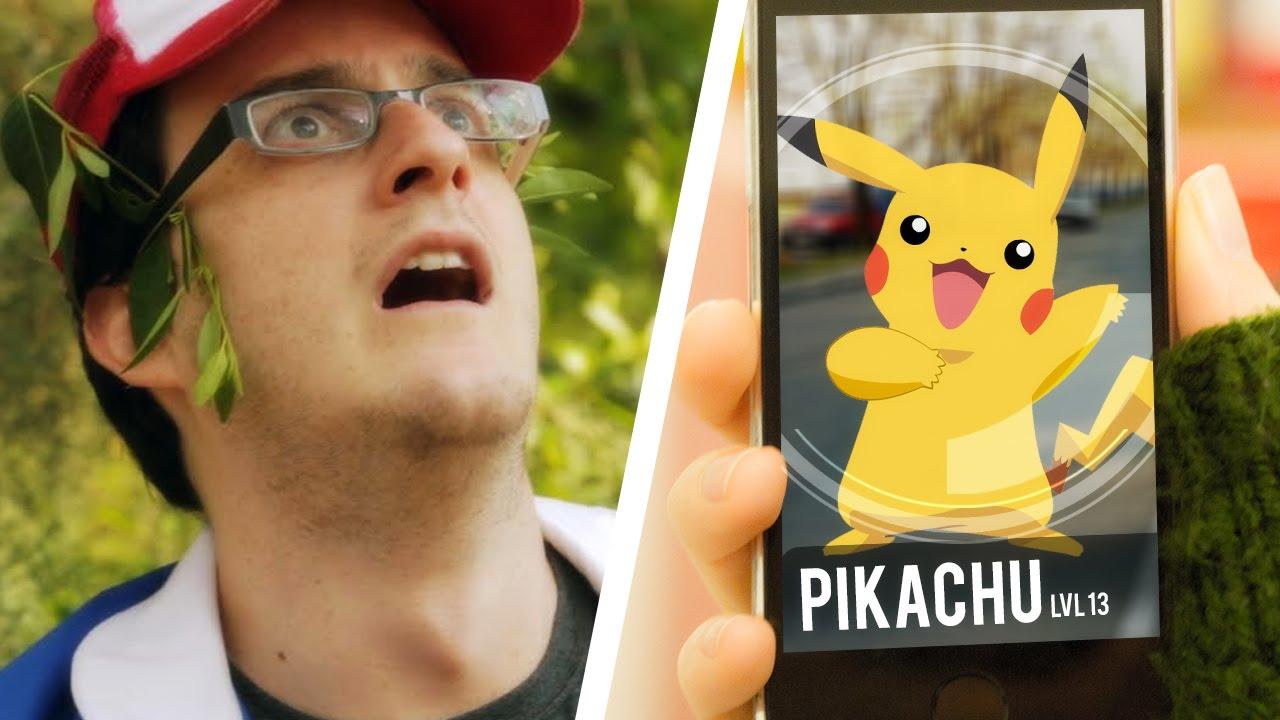 What Pokémon GO is ACTUALLY going to be like - Pokémon lại chặn tiếp IP Việt Nam sau 30 phút mở cửa lại