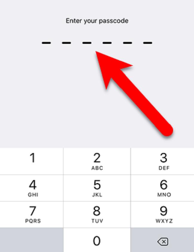 Hướng dẫn nâng cao bảo mật cho iOS bằng mật khẩu