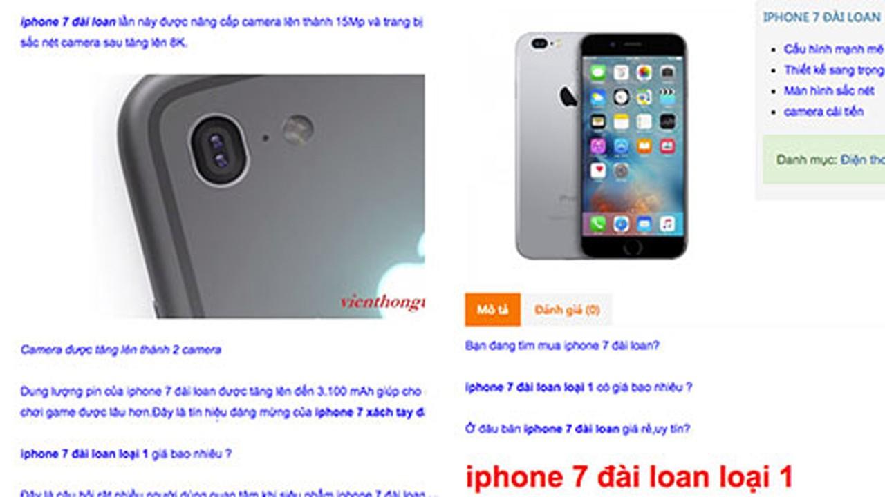 iPhone 7 trainghiemso 01 - Chưa ra mắt, iPhone 7 đã được chào bán tràn lan ở Việt Nam