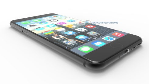 iphone 7 trainghiemso - Ngắm iPhone 7 đen quyến rũ với phím Home cảm ứng hoàn toàn mới