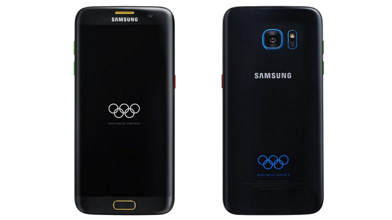 samsung galaxy S7 Edge Olympic edition trainghiemso - Galaxy S7 edge Olympic Edition ra mắt ngày 07/07
