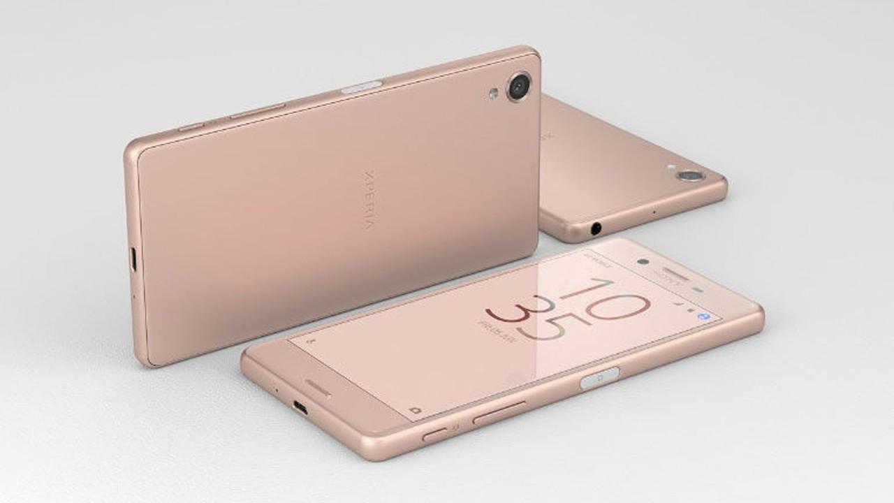 sony xperia x pink - Xperia X giảm giá 1 triệu đồng