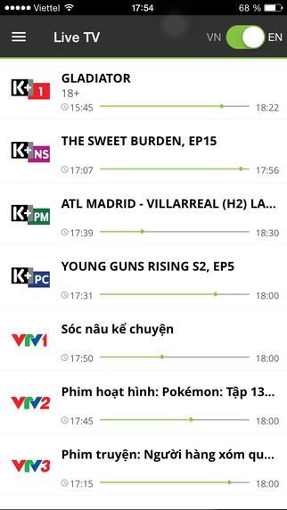 Top 10 ứng dụng xem phim và TV miễn phí trên iOS