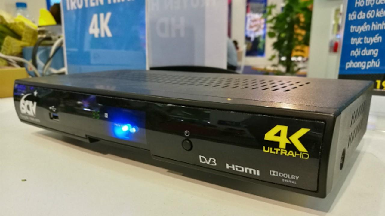 truyen hinh 4K - Việt Nam thử nghiệm truyền hình 4K từ tháng 9