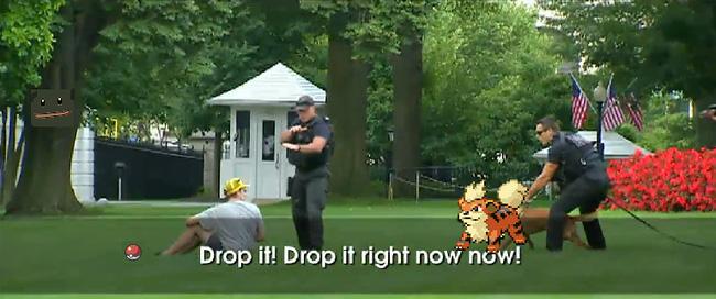 """unnamed file - Nhà Trắng cũng phải """"thất thủ"""" trước người chơi Pokémon GO!"""