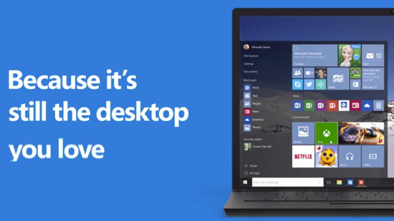 windows 10 screen - Chỉ còn 3 ngày để nâng cấp lên Windows 10 miễn phí