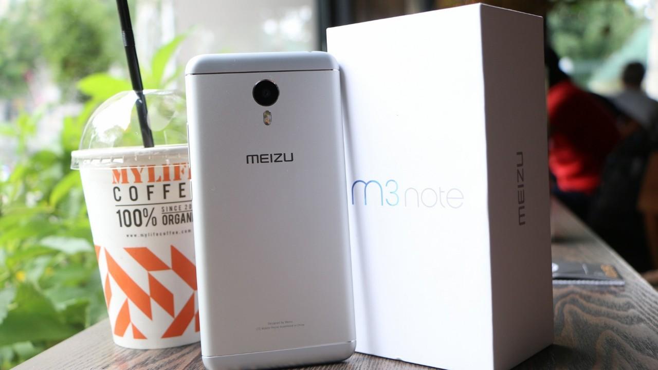 mEIZU nOTE 3 TRAINGHIEMSO - Phablet pin khủng Meizu M3 Note về VN giá 4,5 triệu đồng