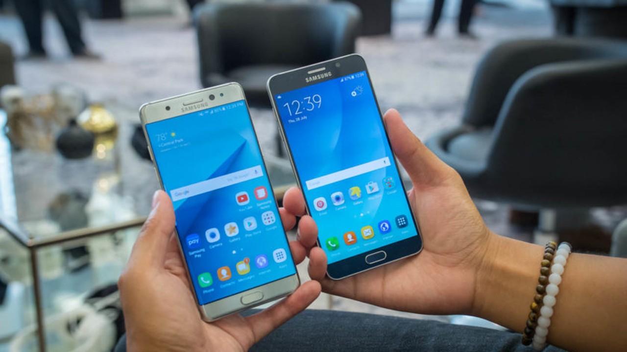 note7 vs note5 display - Người dùng Galaxy Note 5 có nên nâng cấp Note 7?
