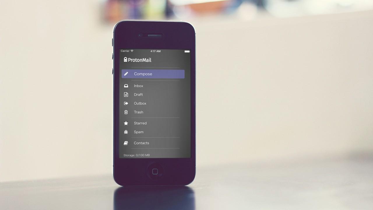 protonmail mobile 1940x1293 - Top 12 ứng dụng check mail trên iOS