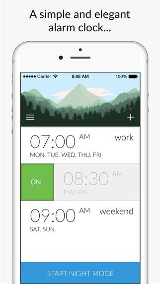 Top 10 ứng dụng báo thức thông minh trên iOS