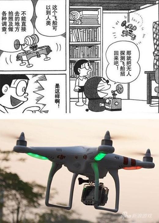 10 bảo bối của Doraemon đã trở thành hiện thực