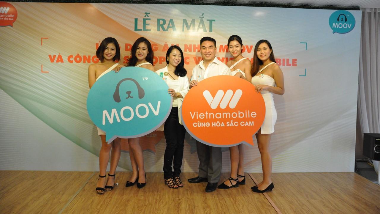 Moov chinh thuc ra mat tai Viet Nam - MOOV chuyển giao kho nhạc giải trí độc quyền cho Vietnamobile