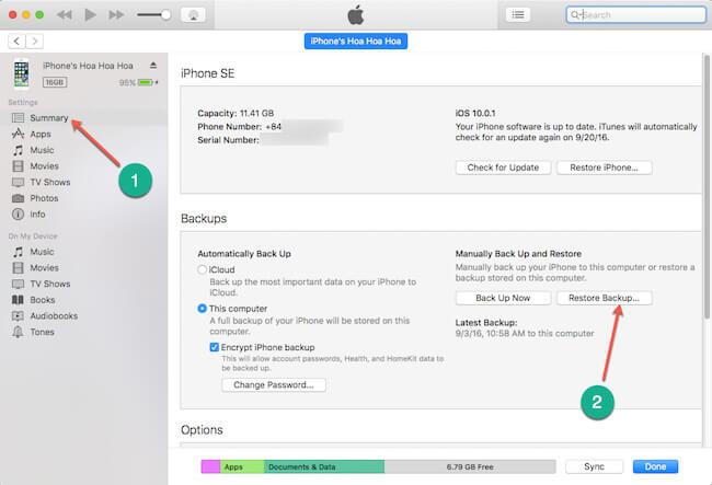 Cách hạ cấp iOS 10 xuống iOS 9.3