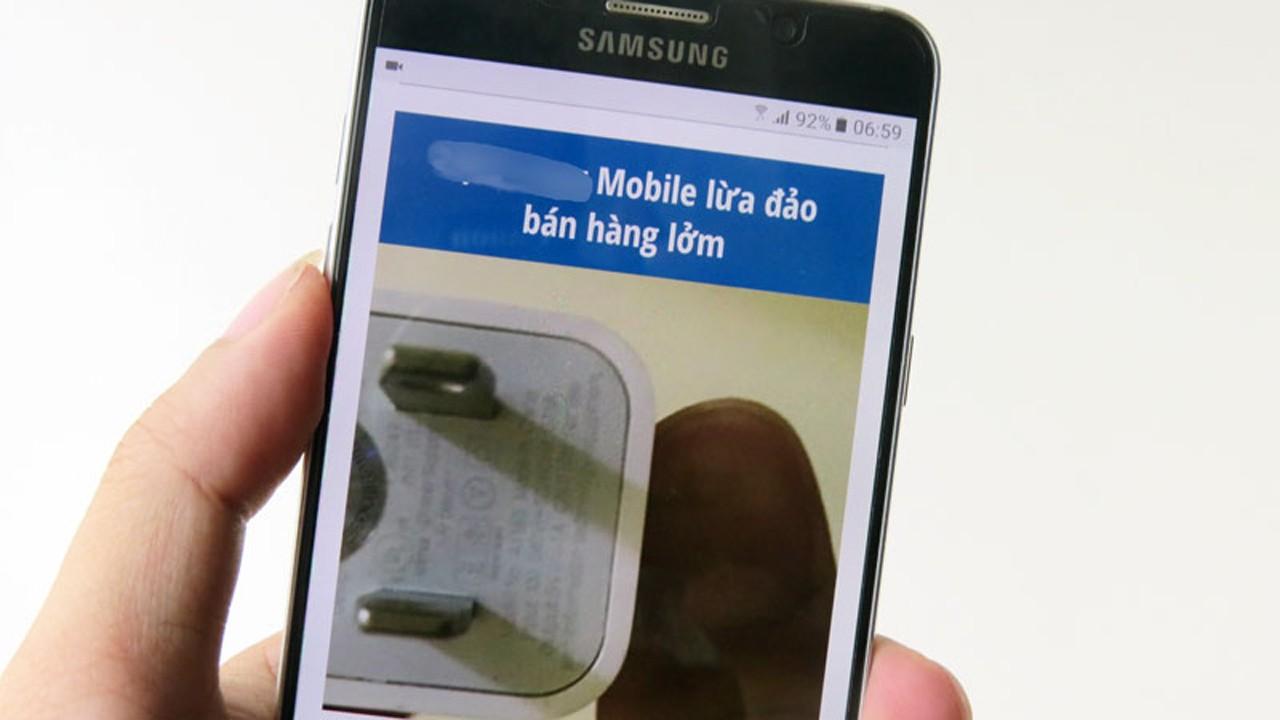 cua hang dien thoai lua dao - Cửa hàng điện thoại méo mặt vì bị tống tiền trắng trợn