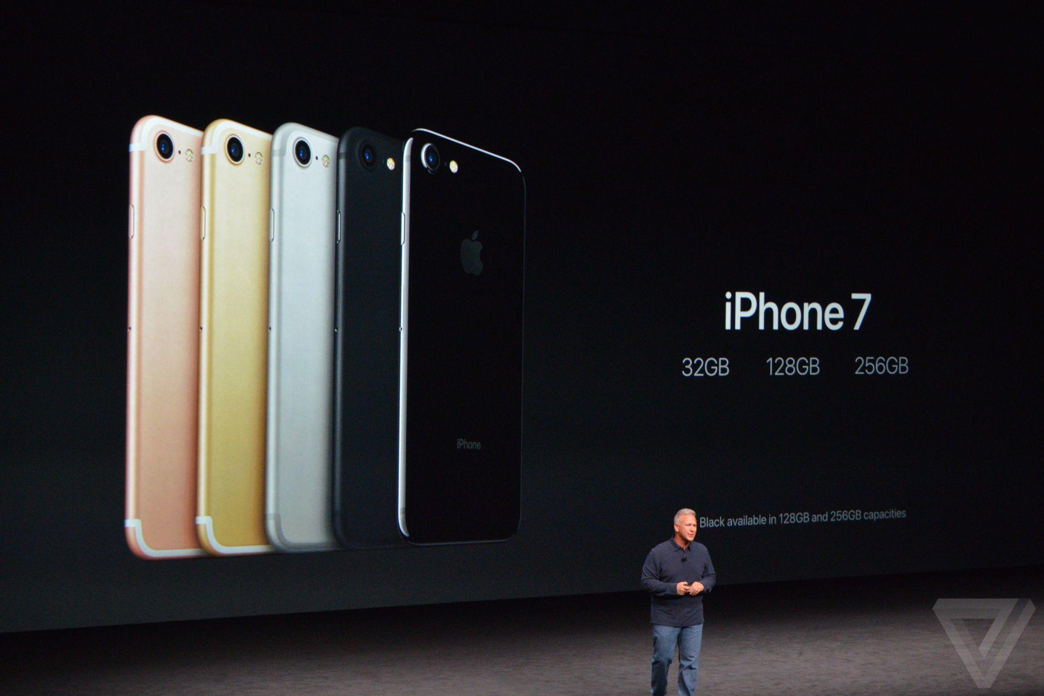 Giá bán dự kiến chi tiết của iPhone 7, 7 Plus chính hãng tại Việt Nam