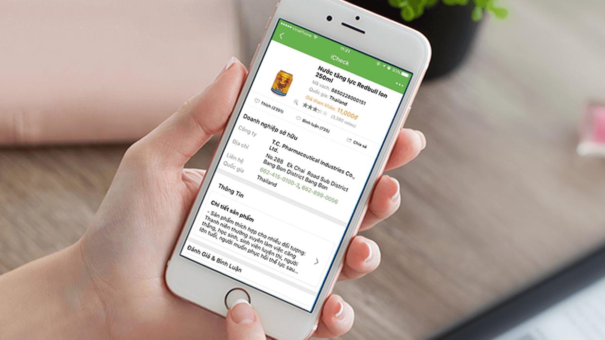 iCkeck - Kiểm tra hàng giả, hàng nhái bằng smartphone