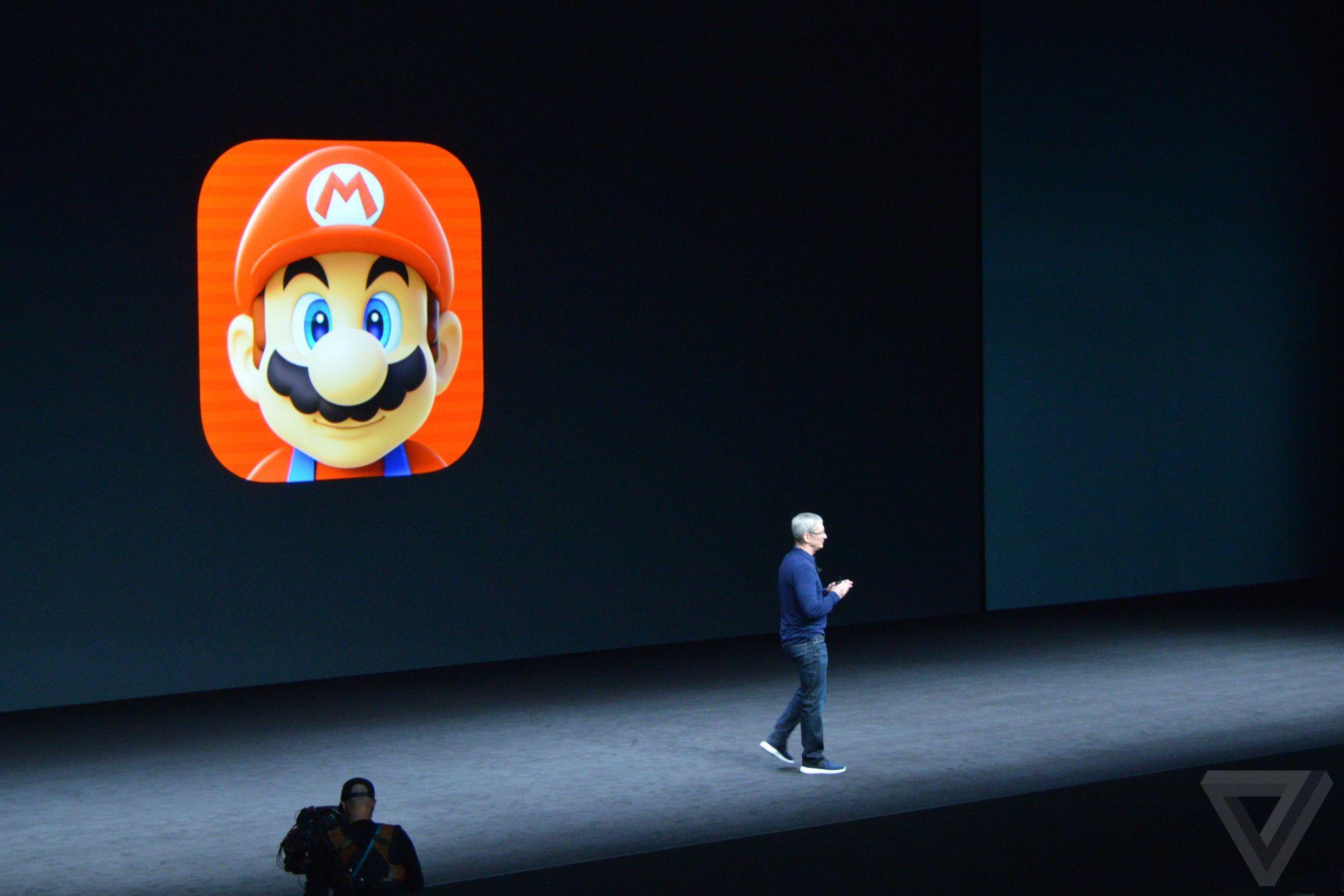 Mario bất ngờ xuất hiện trên iOS