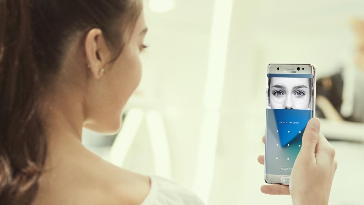 note 7cach quet mong mat - Hướng dẫn sử dụng tính năng quét mống mắt trên Galaxy Note 7