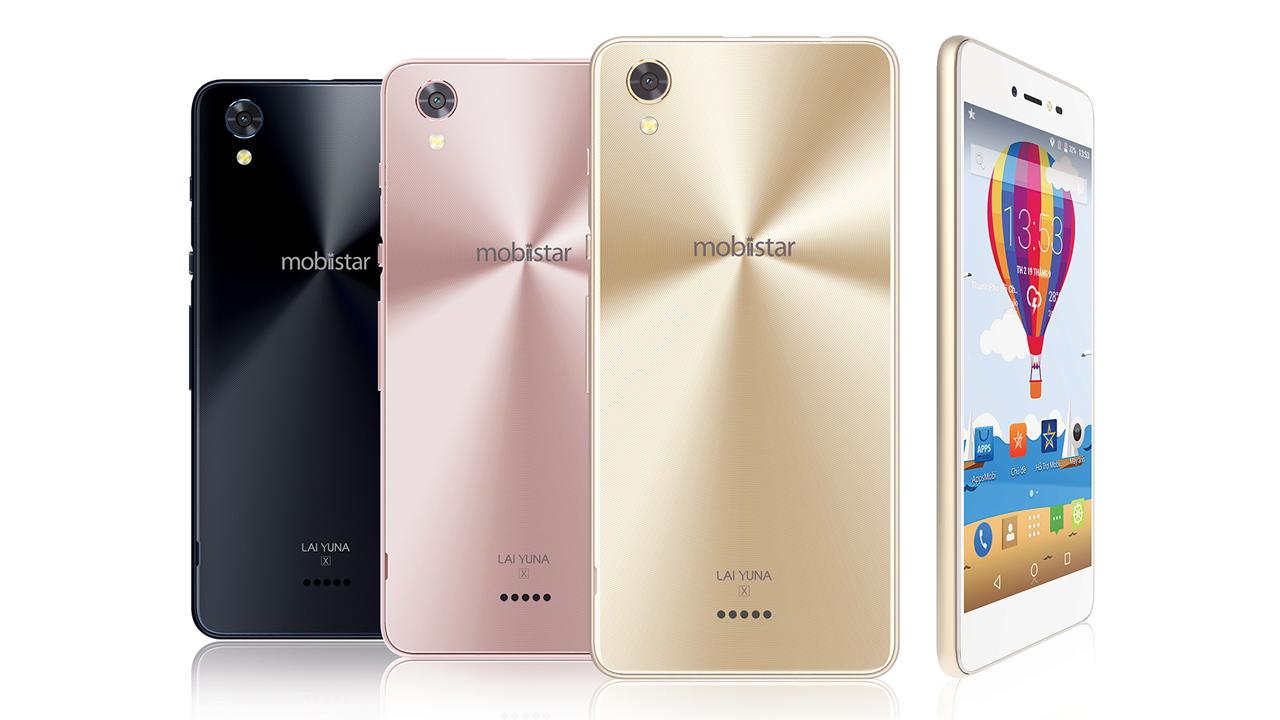 Mobiistar YUNA X  3 màu  - Mobiistar ra smartphone LAIYunaX chuyên selfie