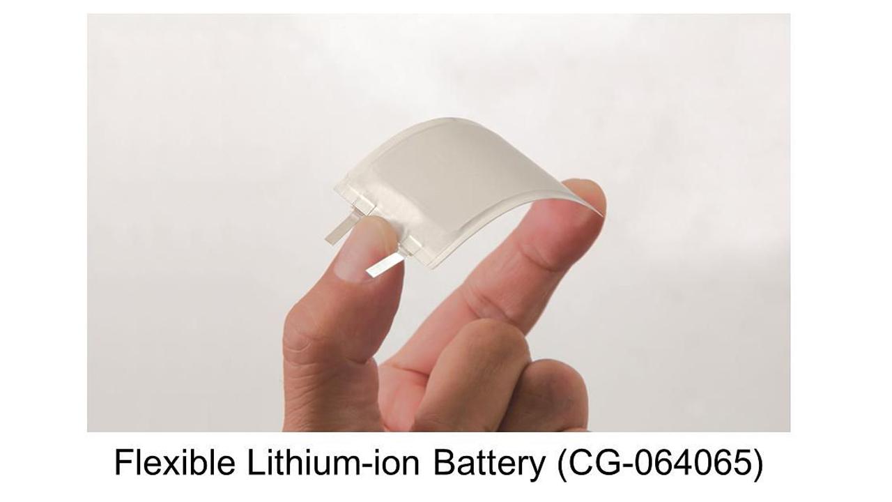 Panasonic ra pin uon cong - Panasonic ra pin uốn cong mới, an toàn hơn hiện nay