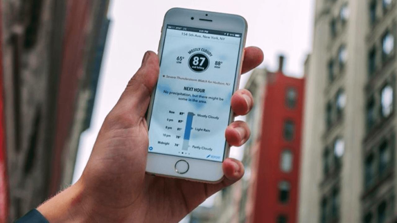 ung dung du doan thoi tiet trainghiemso - Top 5 ứng dụng thời tiết hữu ích trên iOS