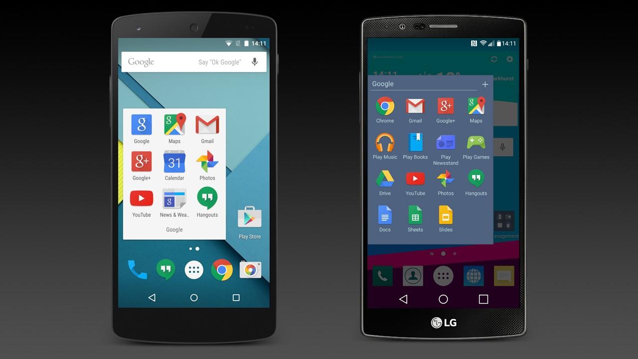 vanilla android 3 home screen folders - Tổng hợp 5 ứng dụng hay và miễn phí trên Android ngày 12.10.2016