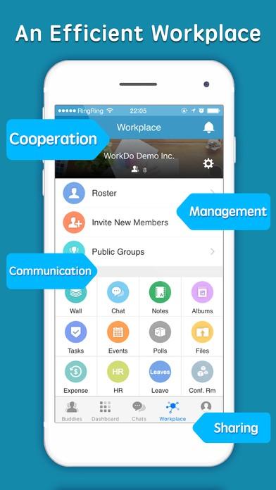 workdo-enterprise-teamwork-ios