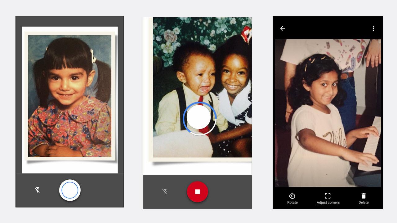 Photo Scan - PhotoScan: Ứng dụng số hóa ảnh di động của Google