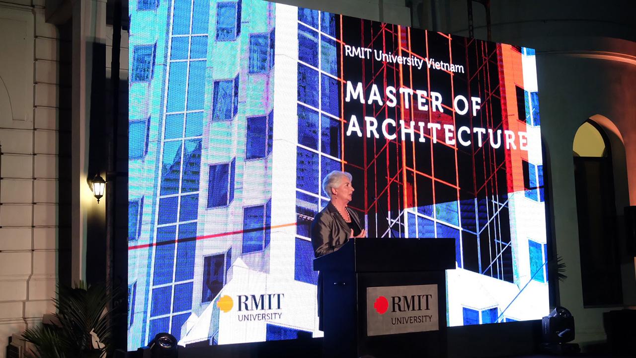 RMIT ra mat chuong trinh Thac si Kien truc - RMIT Việt Nam ra mắt chương trình Thạc sĩ Kiến trúc
