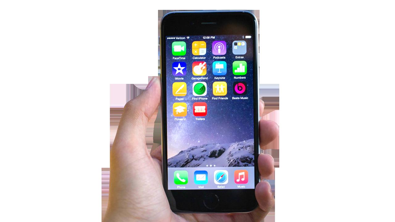 iphone 6 PNG image - Tổng hợp 8 ứng dụng hay và miễn phí trên iOS ngày 11.11.2016