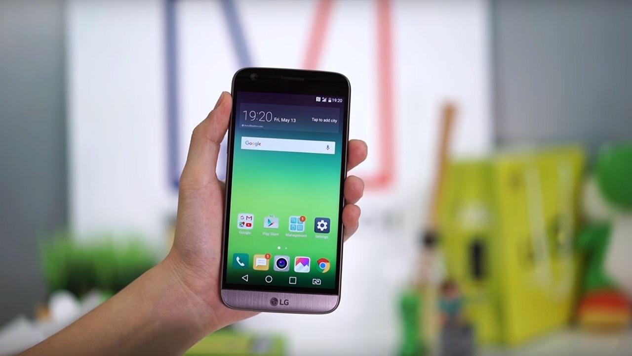 LG G5 front - Tổng hợp 5 ứng dụng hay và miễn phí trên Android ngày 13.12.2016