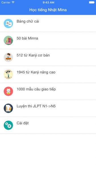 tieng-nhat-minna-for-ios