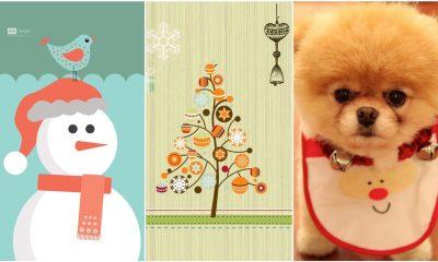 anh nen noel featured 400x240 - 50 ảnh nền Giáng Sinh cực dễ thương cho điện thoại