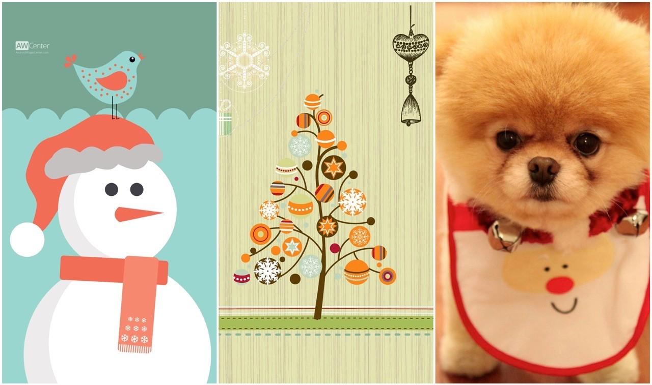 anh nen noel featured - 50 ảnh nền Giáng Sinh cực dễ thương cho điện thoại