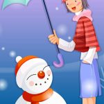 christmas 11 150x150 - 50 ảnh nền Giáng Sinh cực dễ thương cho điện thoại
