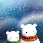 christmas 12 150x150 - 50 ảnh nền Giáng Sinh cực dễ thương cho điện thoại