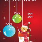 christmas 24 150x150 - 50 ảnh nền Giáng Sinh cực dễ thương cho điện thoại