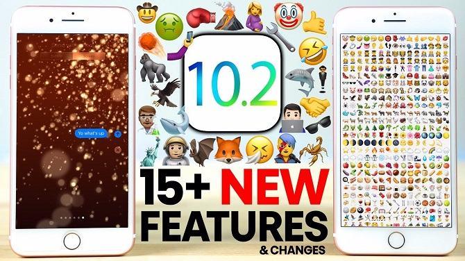 Đã có bản cập nhật iOS 10.2